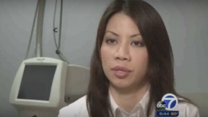 Dr. Sheena Kong shows Ultherapy on ABC News San Francisco